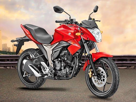 Best 150cc Bikes in India - Suzuki Gixxer