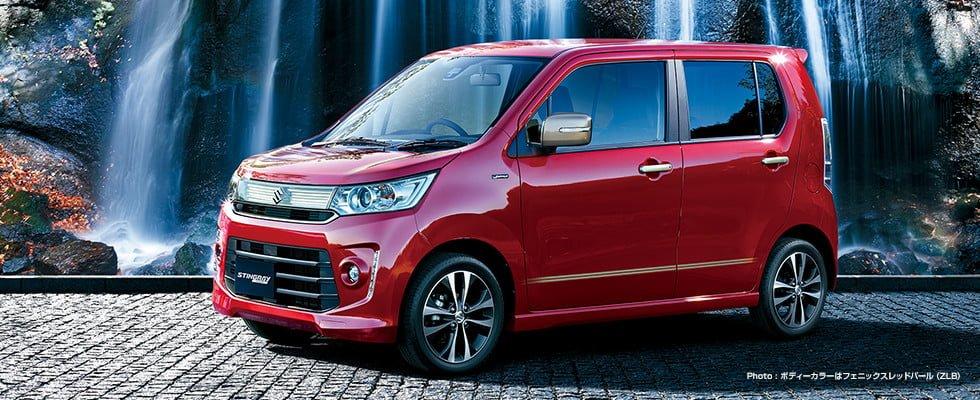 Suzuki Wagon R Stingray J Style Launched In Japan