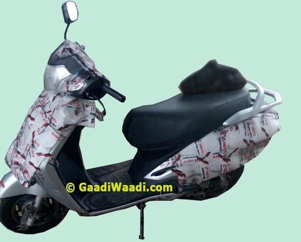 Hero 125cc Scooter Launch In The Offing; Spy Images Surface