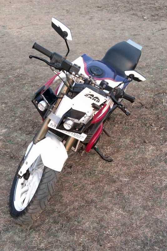 Modified Bajaj Pulsar 200 From Zars Customs
