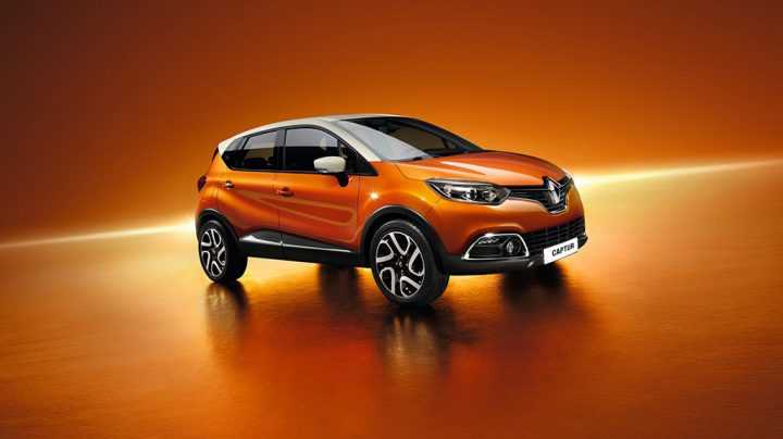 Renault Captur (for representative purposes only)