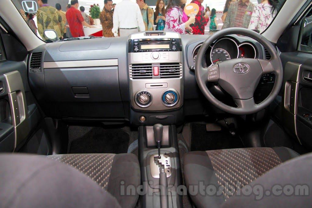 Toyota Rush Sportivo Interior Dashboard Carblogindia