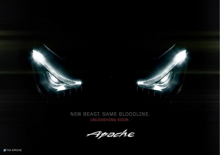 SCOOP – TVS Apache New Series Details