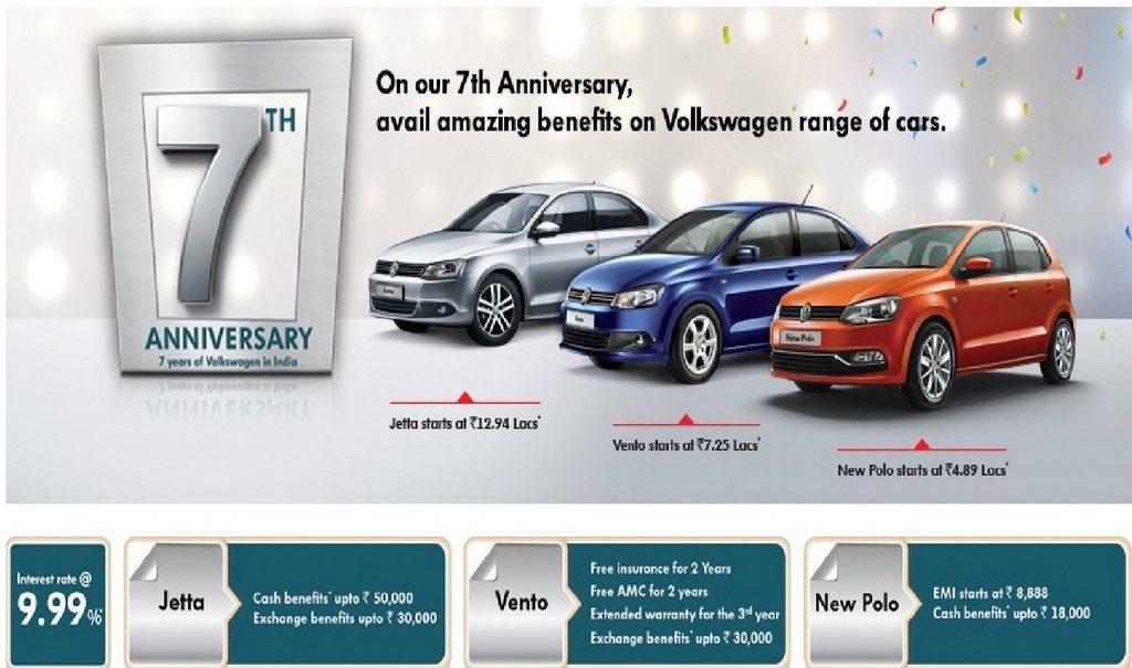 Volkswagen India Discounts And Offers