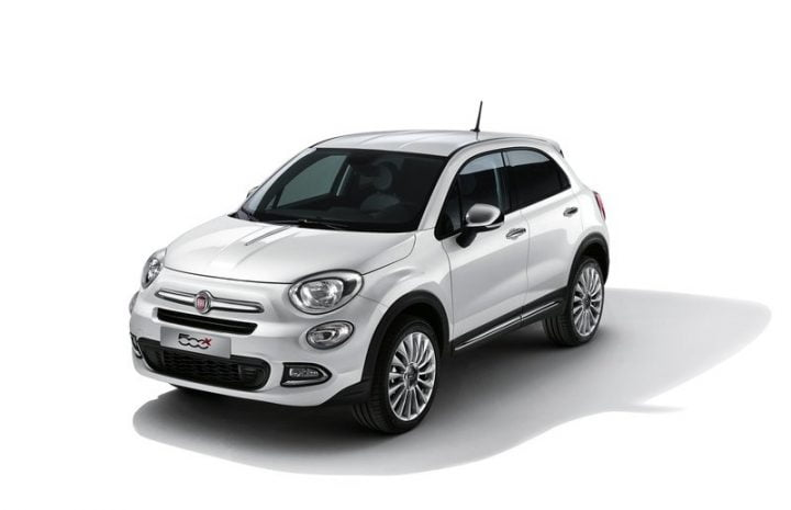 Fiat 500X (for representative purposes only)
