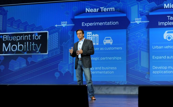 Mark Fields at 2015 CES