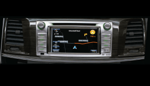 Fortuner New touchscreen