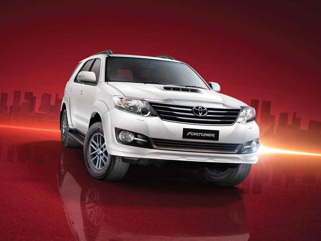 Fortuner Car Price In India