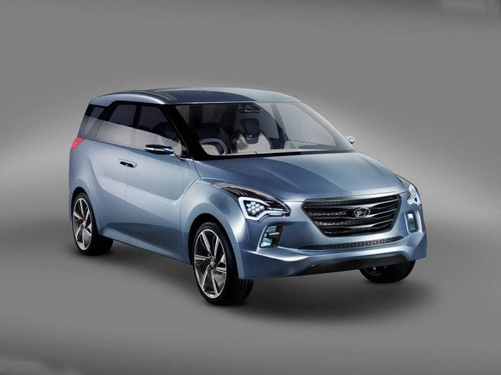 Upcoming new Hyundai Cars in India in 2016,2017 -Hexa_Space_Concept_Front_Angle_Image