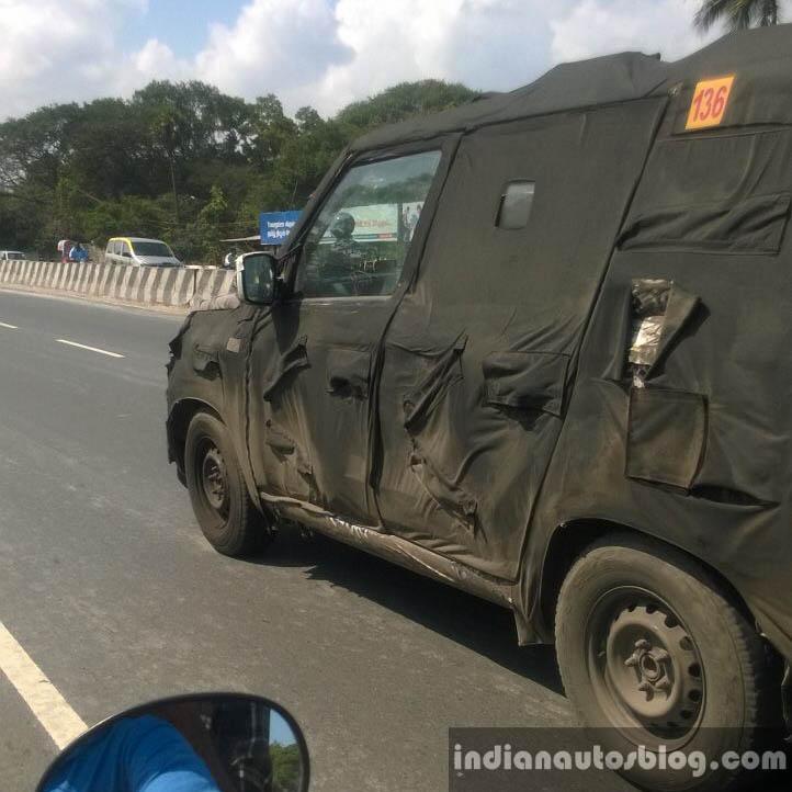 Mahindra-Bolero-New-Model-U301-Spy-Pics- (3) - CarBlogIndia