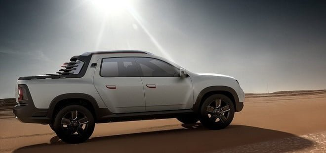 Renault Duster Oroch Concept Side Angle