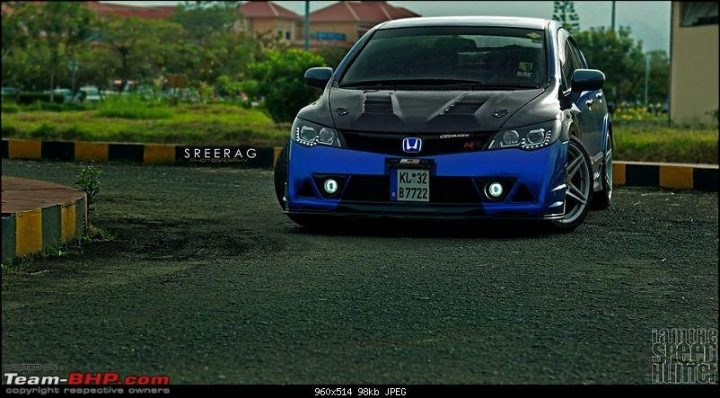 This modified Honda Civic in Kerela is surely an eye catcher
