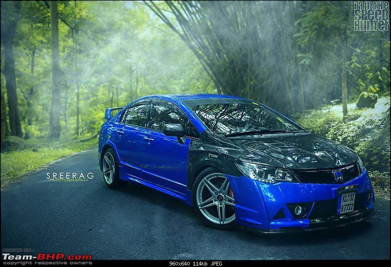 Modified Honda Civic From Kerela Looks Really Stunning