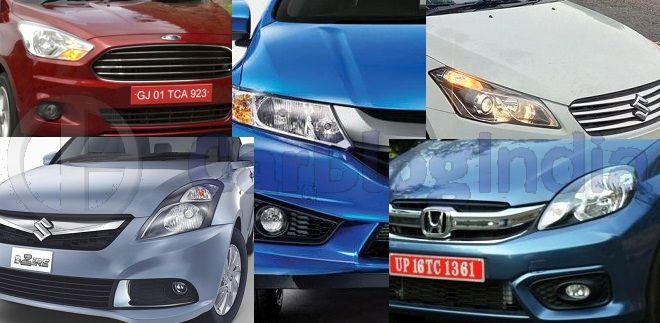 Five Most Fuel Efficient Diesel Sedan Cars in India