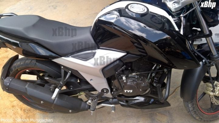 2018 tvs apache rtr160 images