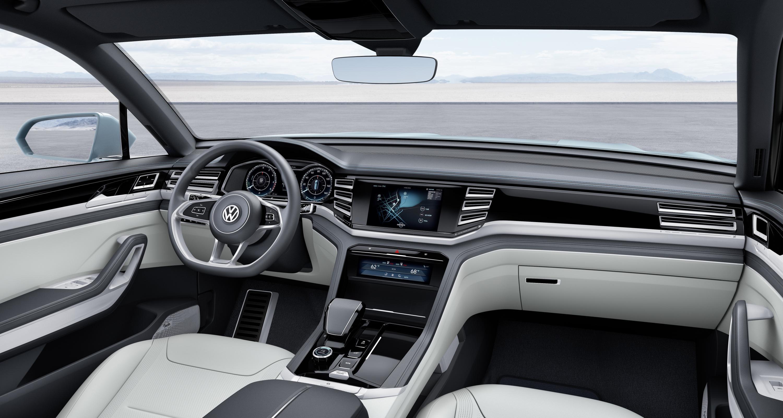 volkswagen cross coupe gte interior dashboard carblogindia. Black Bedroom Furniture Sets. Home Design Ideas