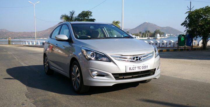 best petrol sedans in india under 11 lakhs 2015 Hyundai Verna Review 4S Fluidic Verna (1)