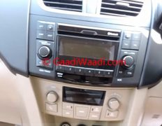 2015-Model-Maruti-Dzire-facelift-ZDi-audio-system
