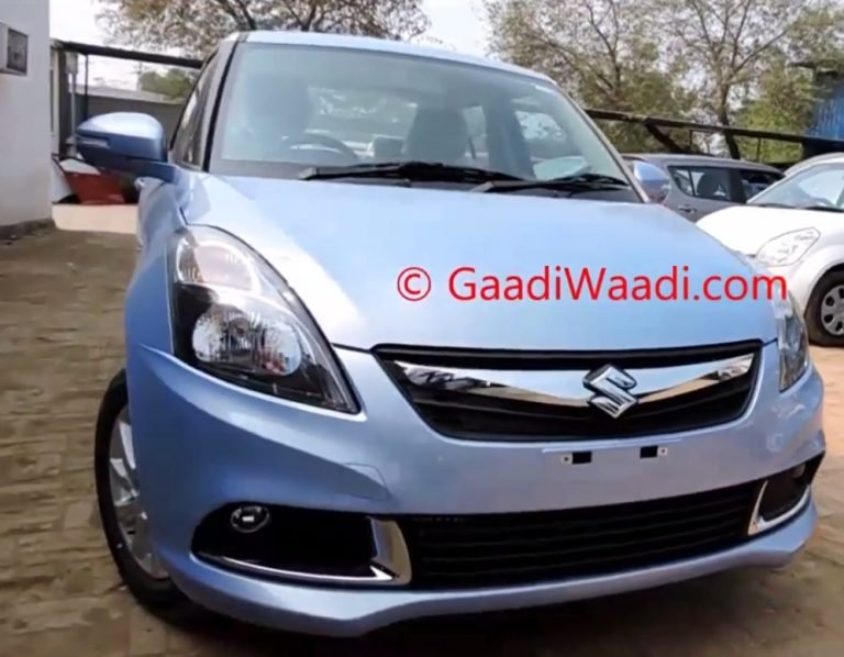 2015 Model Maruti Swift Dzire ZDi Features Shown In Pics and Video