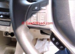 2015-Model-Maruti-Dzire-facelift-ZDi-steering-audio-controls
