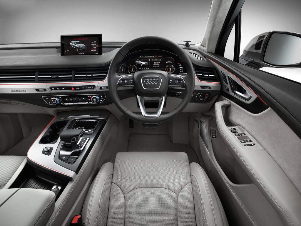 audi q7 interior 2017 india. Black Bedroom Furniture Sets. Home Design Ideas