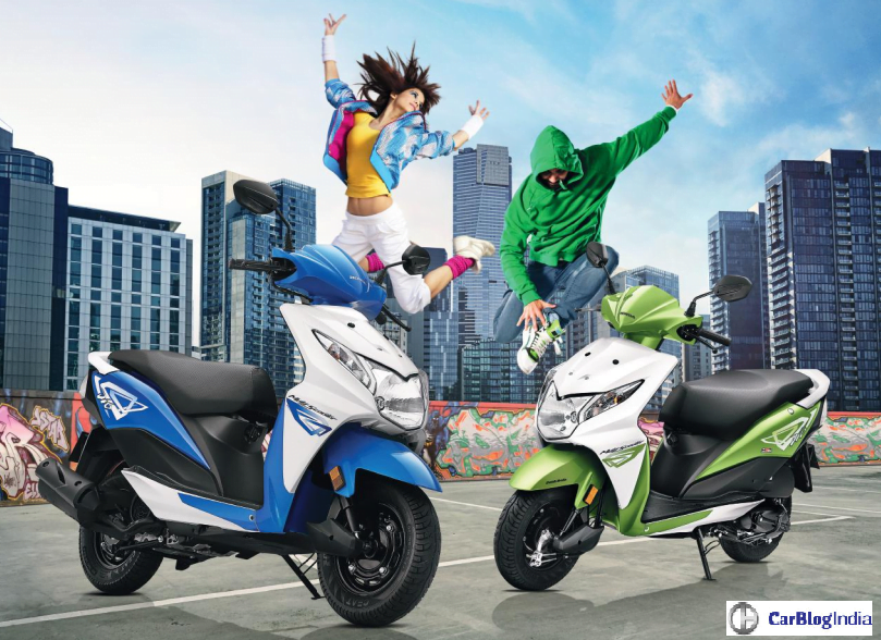 2016 Honda Dio Price, Specifications, Mileage, Colours, Top Speed