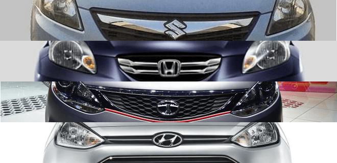 2015 Maruti Dzire vs Honda Amaze vs Tata Zest vs Hyundai Xcent