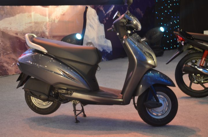 Honda Combi Brake System Made its debut on the 2009 Honda Activa