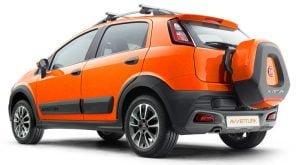 Fiat Avventura rearview