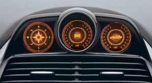Fiat Avventura speedometer
