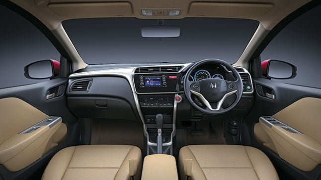 Honda City Dashboard Carblogindia