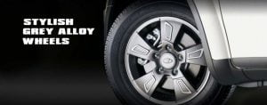 Mahindra-XUV500-Xclusive-edition-grey-alloys-pics