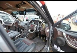 XUV500 INtrepid interiors