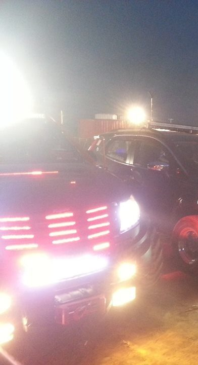 XUV500 INtrepid lights