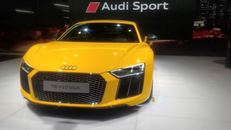 2016 Audi R8 Showcased at Auto Expo 2016