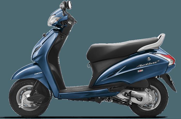 honda-activa-3g-blue-color - CarBlogIndia