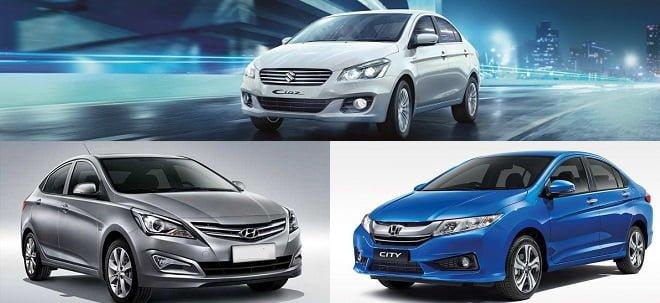 Hyundai Verna Vs Honda City Vs Maruti Ciaz