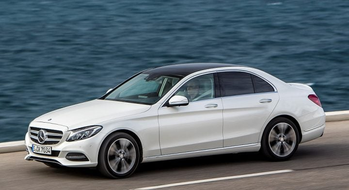 new mercedes c class diesel india