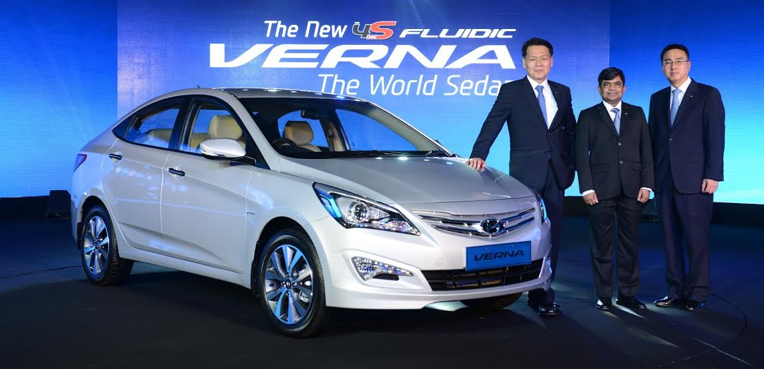 2015 Hyundai Verna New Model India Launch Price Pics
