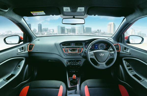 2015 Hyundai I20 Active Crossover Interior Carblogindia
