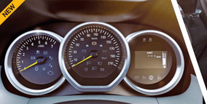 2015 new duster instrument cluster