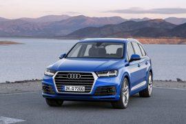 Audi Q7 e-tron pics front