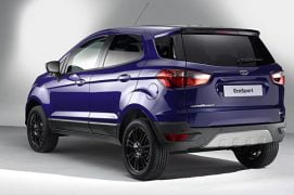 Ford EcoSport Europe Rear