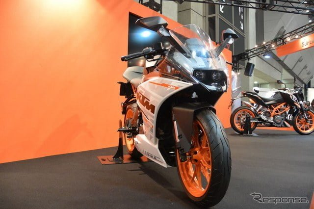 Bikes at Auto Expo 2018 - KTM RC250