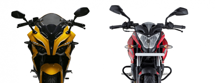 Pulsar RS200 vs Pulsar 200NS