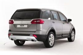 Tata Hexa Concept Rear Angle 2