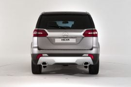 Tata Hexa Concept Rear