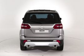 Tata Hexa Concept Top Angle