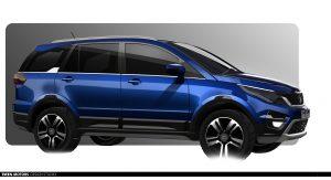 Tata Hexa Design 1