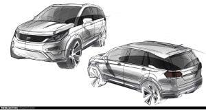 Tata Hexa Design 6